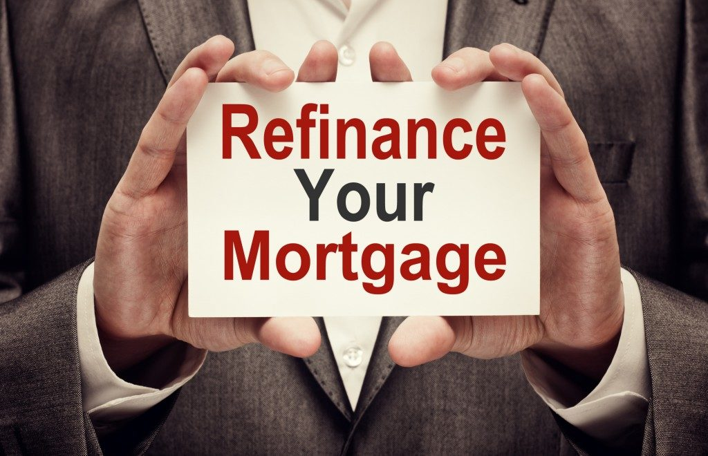 Refinance your mortgage card