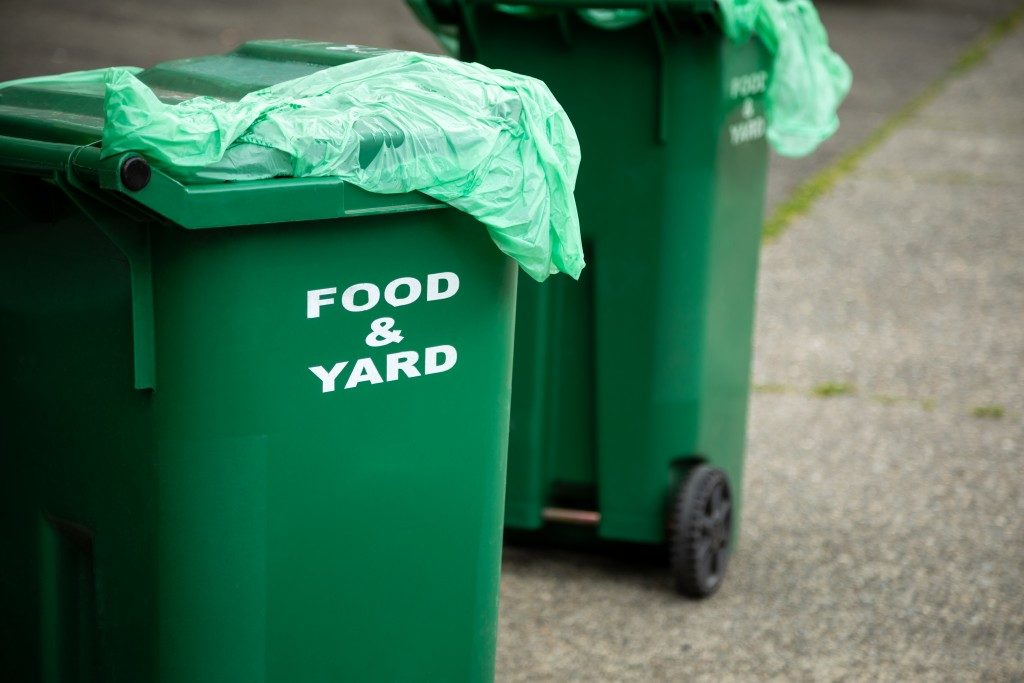 Green Food and Yard bins