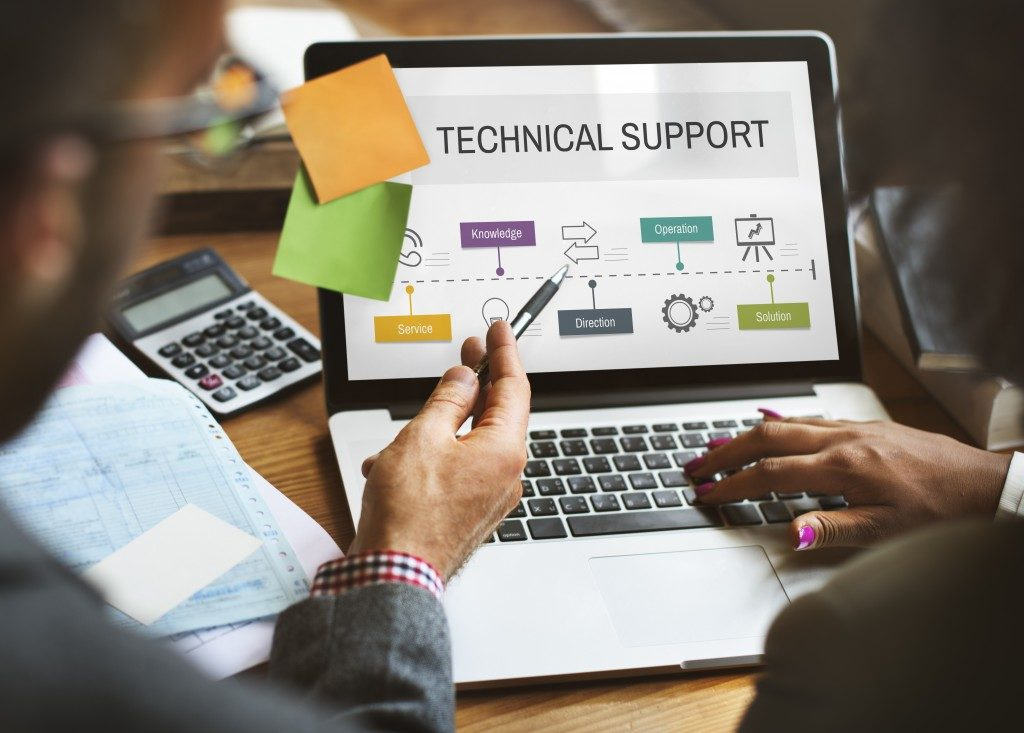 Technical support process