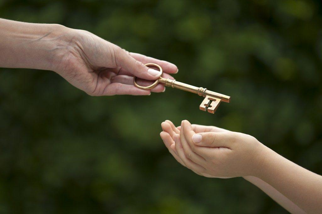 giving inheritance